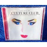 Culture Club The Best Of Cd Original Pronta Entrega