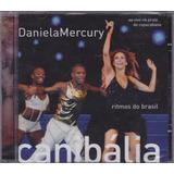 Daniela Mercury   Cd Canibália Ao Vivo   Lacrado De Fábrica
