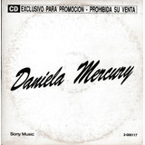 Daniela Mercury Rosa Argentino Cd Single Promo Muito Raro