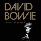 David Bowie   Box Five Years 1969 1973 Lacrado   Novo