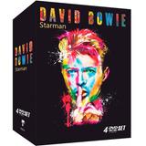 David Bowie   Starman   Box Com 4 Dvds