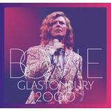 David Bowie Glastonbury 2000   Cd Duplo Rock