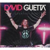 David Guetta    Cd Greatest Hits   Duplo Importado