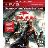 Dead Island Game Of The Year   Dlc Ps3 Psn   Midia Digital