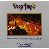 Deep Purple   Cd Made In Europe   Remaster 2007   U S A