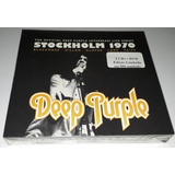 Deep Purple   Live In Stockholm 1970  digipak  2cds 1dvd