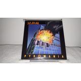 Def Leppard   Promo Box 5 Shm cd Mini Lps Cd Selados Japan