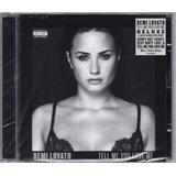 Demi Lovato Cd Tell Me You Love Me Deluxe Novo Lacrado