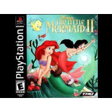 Disney Sereia The Little Mermaid 2 Jogo Criança Infantil Psn