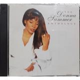 Donna Summer The Anthology Cd Duplo Usado Importado Zerado