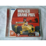 Dreamcast Monaco Grand Prix  Lacrada  Jogo Sega Cd Original