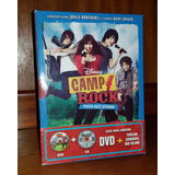 Dvd   Cd Camp Rock De Colecionador Com Luva Disney Mbshop