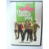 Dvd 10 Things I Hate About You Filme Comédia Importado