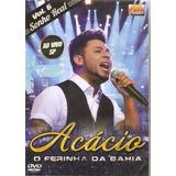 Dvd Acácio   Vol 6 Sonho Real Ao Vivo  Forró Original Lacrad