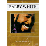 Dvd Barry White   Larger Than Live