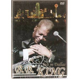 Dvd Bb King   Live In Dallas   B B Original E Lacrado Blues