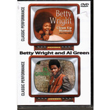Dvd Betty Wright And Al Green   Classic Performance   Orig E