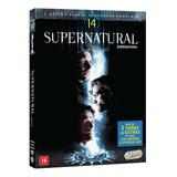 Dvd Box - Supernatural 14ª Temporada