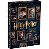 Dvd Box Harry Potter Coleção 8 Dvds Lacrado Completo