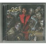 Dvd Cd Michael Jackson Thriller 25 Anos Ed Especial Lacrado