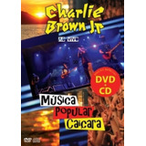 Dvd Charlie Brown Jr   Música Popular Caiçara  dvd   Cd