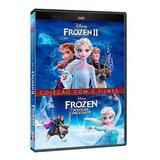 Dvd Duplo - Frozen - Coleção 2 Filmes