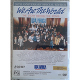 Dvd Duplo Importado   We Are The World   Usa For Africa