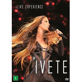 Dvd Duplo Ivete Sangalo Live Experience   2019