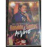 Dvd E Cd Ronaldo Santos Ao Vivo Originais Ref 103