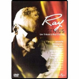 Dvd Genius   Um Tributo A Ray Charles   2004 Original E Lac