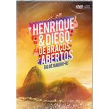 Dvd Henrique E Diego De Abraços Abertos Original Lacrado