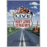 Dvd Huey Lewis And The News Live At Rockkpalast