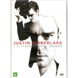 Dvd Justin Timberlake   Live At Roundhouse London