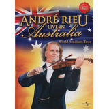 Dvd Lacrado Andre Rieu Live In Australia Importado Original