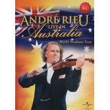 Dvd Lacrado Andre Rieu Live In Australia Importado Rarissimo