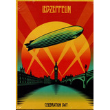 Dvd Led Zeppelin   Celebration Day Kit C  2 Cds   1 Dvd
