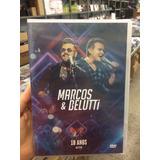 Dvd Marcos E Belutti   10 Anos Ao Vivo