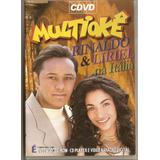 Dvd Multiokê   Rinaldo E Liriel Na Itália