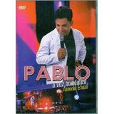 Dvd Pablo   Arrocha Brasil A Voz Romantica Original Lacrado