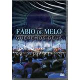 Dvd Padre Fábio De Melo   Queremos Deus