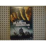 Dvd Planeta Dos Macacos Tim Burton 2 Cds