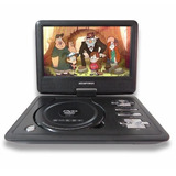 Dvd Portátil Tela De 9 Tv Digital Cd Dvd Jogos Ap989