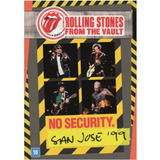 Dvd Rolling Stones From The Vault No Security San Jose 99