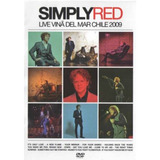 Dvd Simply Red   Live Vina Del Mar  978426