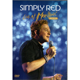 Dvd Simply Red   Simply Red   Live At Montreux   2003