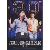 Dvd Teodoro E Sampaio   30 Anos Kit Cd   Dvd