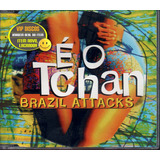 É O Tchan Cd Single Brazil Attacks 4 Faixas   Novo Lacrado