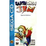 Earthworm Jim Special Edition  Sega Cd