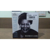 Ella Fitzgerald Milestones Of A Jazz Legend   Box C  10 Cds