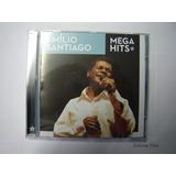 Emilio Santiago Cd Mega Hits Cd Original Novo Lacrado